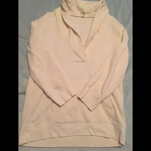 White J Crew sweater